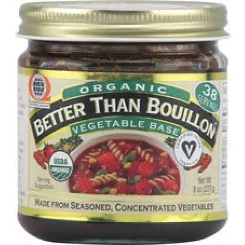 Better than bouillon vegetable base gluten free
