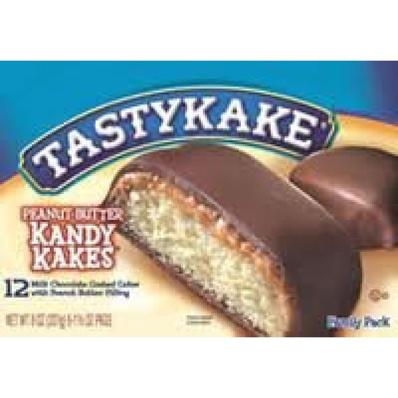 Tastykake Peanut Butter Kandy Kakes Four Family Packs