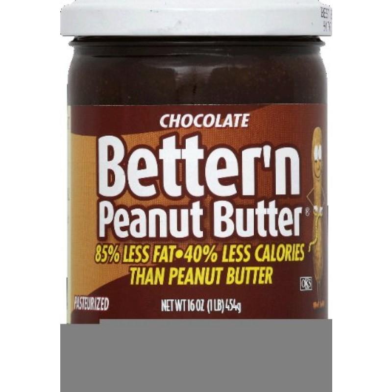 Better N Peanut Butter Chocolate Peanut Spread 16.0 OZ