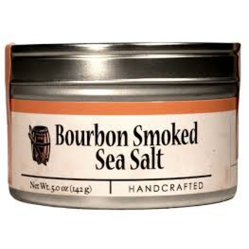... / Artisan > Bourbon Barrel Foods Smoked Sea Salt Spice; 5 Ounces