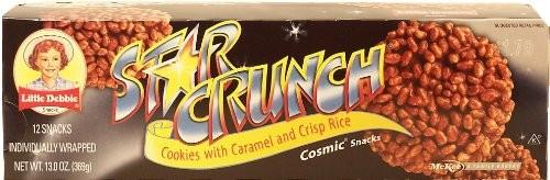Little Debbie Snacks Star Crunch, 12-Count Box (CASE of 16