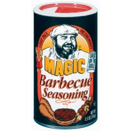 Chef Paul Prudhomme's Magic Seasoning Blends ~ Magic Barbecue Seasoning, 5.5-Ounce Canister
