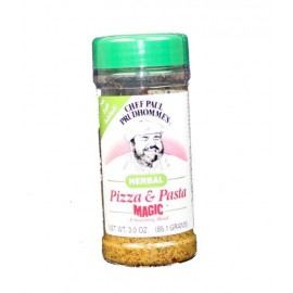 Chef Paul Prudhomme's Magic Seasoning Blends ~ Pizza & Pasta Magic Herbal, 3-Ounce Bottle