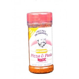 Chef Paul Prudhomme's Magic Seasoning Blends ~ Pizza & Pasta Magic Hot & Sweet, 3.6-Ounce Bottle