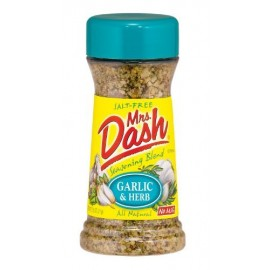 Mrs. Dash Garlic & Herb All Natural Seasoning Blend 2.5 oz