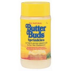 Butter Buds Butter Flavor Granules Sprinkles 2.5-oz