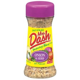 Mrs. Dash Onion & Herb All Natural Seasoning Blend 2.5 oz