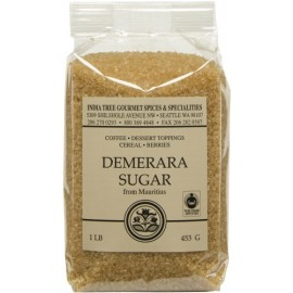 India Tree Demerara Sugar, 16 oz.