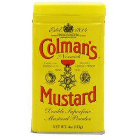 Colman's Mustard Powder - 4oz (113g)