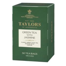 Taylors of Harrogate Green Tea with Jasmine, 50 Count Tea Bags
