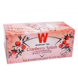 Wissotzky Cranberry Splash Herbal Tea, 20 Tea Bags