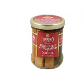 Tonnino Tuna Fillets With Jalapeno in Olive Oil - 6.7 oz