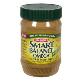 Smart Balance Omega Natural Peanut Butter, CREAMY 16-Ounce Jar