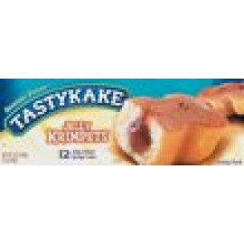 Tastykake Jelly Krimpets- 6 Individually Wrapped Packs of 2
