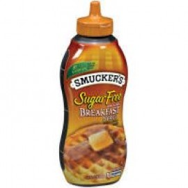 Smucker's Sugar Free Breakfast Syrup, Low Calorie, Kosher OU, Sweetened with NutraSweet, Pack of One 14.5 oz Bottle