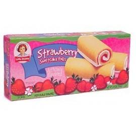 Little Debbie Snacks Strawberry Shortcake Rolls, 6-Count Box
