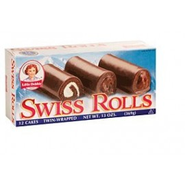 Little Debbie Snacks Swiss Rolls, 12-Count Box