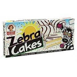 Little Debbie Snacks Zebra Cakes, 10-Count Box