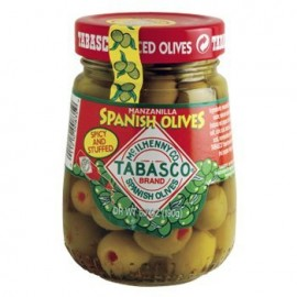 TABASCO Stuffed Spicy Spanish Olives - 7.5 oz. jar