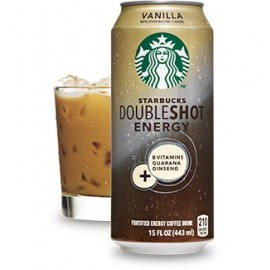 Starbucks Doubleshot, Energy+Coffee Drink, Vanilla, 15 oz (Pack of 12)