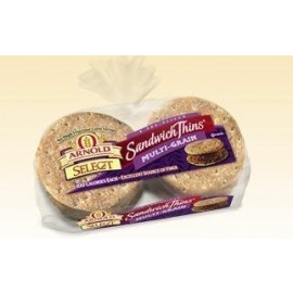 Arnold Select Sandwich Thins Multi-Grain 8-count bag (Pack of 4)