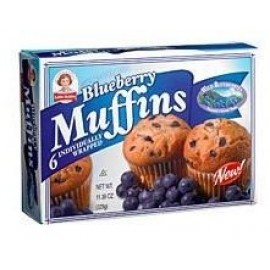 Little Debbie: Blueberry Muffins, 6-Individually Wrapped
