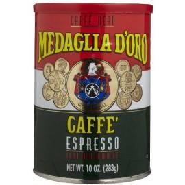 Medaglia D'Oro Espresso Coffee. 10 oz. can