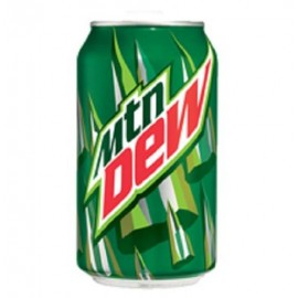 Mountain Dew, 12-Ounce Cans - 24 Pack