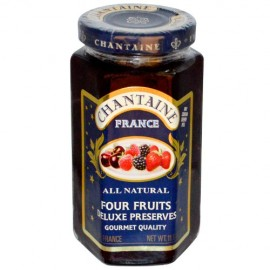 St. Dalfour Chantaine Deluxe Preserves All Natural Four Fruits  11.5 oz