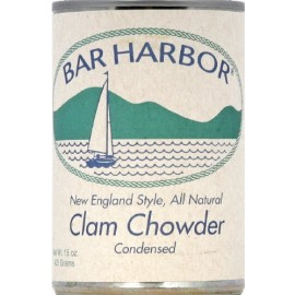 Bar Harbor All Natural New England Clam Chowder, Cans, 15 oz