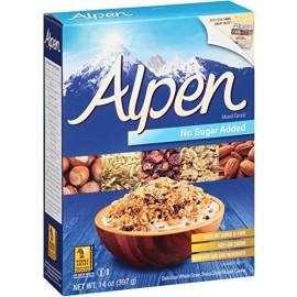 One 14 oz Alpen Cereal, No Sugar Added