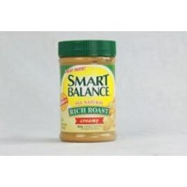 Smart Balance Omega Natural Peanut Butter, CRUNCHY 16-Ounce Jar