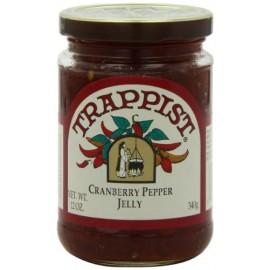 Trappist Preserve Jelly, Crnbry Pepper, 12-Ounce