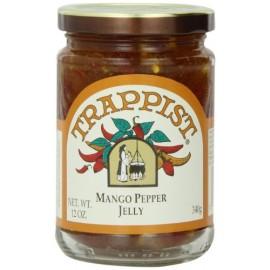 Trappist Preserve Jelly, Mango Pepper, 12-Ounce