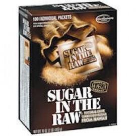Sugar In The Raw Natural Cane Sugar 16 oz  100 Packets