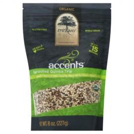 Truroots Sprouted Quinoa Trio, Organic, Gluten Free; Non GMO; 8-Ounce