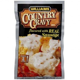 WILLIAMS Gravy Mix with Sausage, 2.5-Ounce
