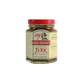 Busha Brownes Authentic Jerk Seasoning 4 Oz