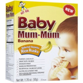 Baby Mum-Mum Rice Rusks - Banana 1.76 Ounces
