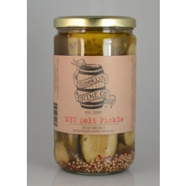 Brooklyn Brine Company NYC Deli Pickle 24 Ounces