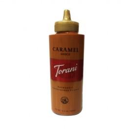 Torani Caramel Sauce, 16.5 oz Squeeze Bottle