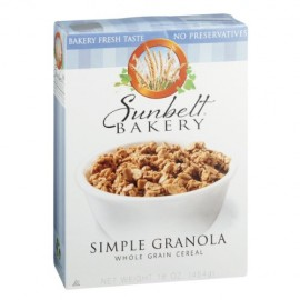 Sunbelt Bakery Cereal Simple Granola Whole Grain 16 oz.