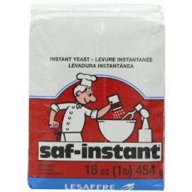 SAF Red Instant Yeast, 1-Pound Pouch; Gluten Free, Non-GMO, Kosher, Vegan