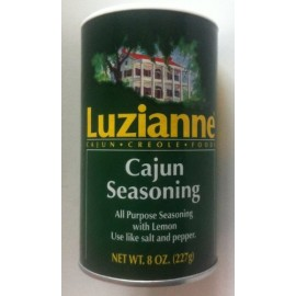 Luzianne Cajun Creole Foods Cajun Seasoning (8oz Each Can)