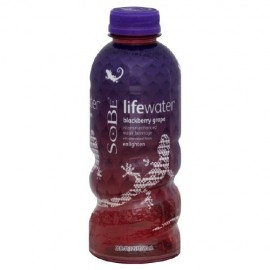 Sobe Vitamin Enhanced Water , Enlighten, Blackberry Grape 20 Fl Oz (Pack of 12)