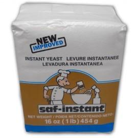 SAF Gold Instant Yeast - 1 Pound Pouch; Gluten Free, Non GMO, Kosher, Vegan