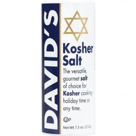 David's Kosher Salt 7.5 Ounce - 1 Can