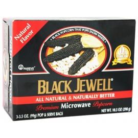 Popcorn - Black Jewell Premium Microwave Popcorn - Natural Flavor