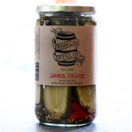 Brooklyn Brine Damn Spicy Pickles; 24 Ounce