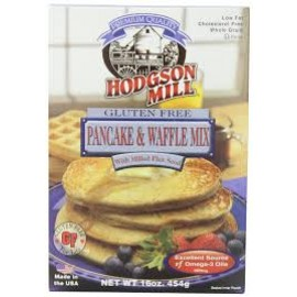 Hodgson Mill Pancake & Waffle Mix with Milled Flax Seed; Gluten Free; Non GMO; 16 Ounces